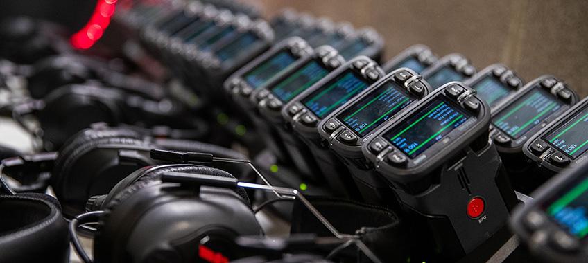 Equipment Rental Wireless Intercom
