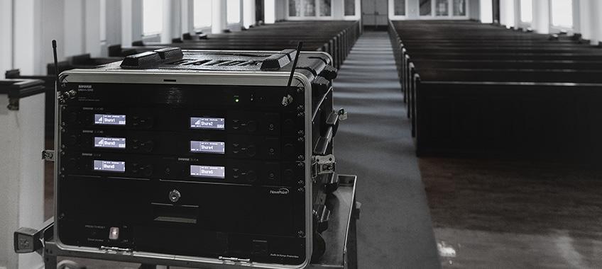 Equipment Rental Wireless Audio